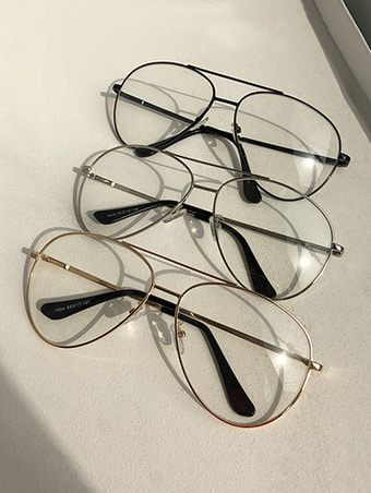 vintage glasses - 3color