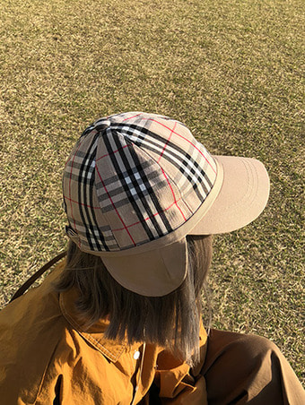check flight hat - 3color