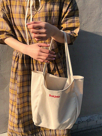 bonjour eco bag - 2color