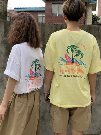 hawaii T-shirts / 3color