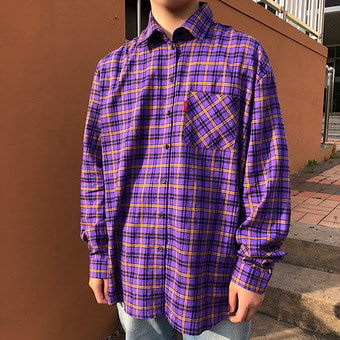 [unisex] OZ check shirts / 3color
