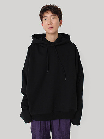 [unisex] heavy crop hood / 3color
