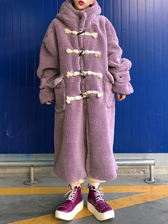 Teddy bear dumble coat / 3color