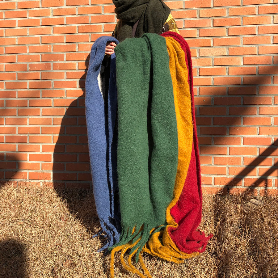 [한정수량] ( 1 + 1 ) wide reggae muffler / 7color