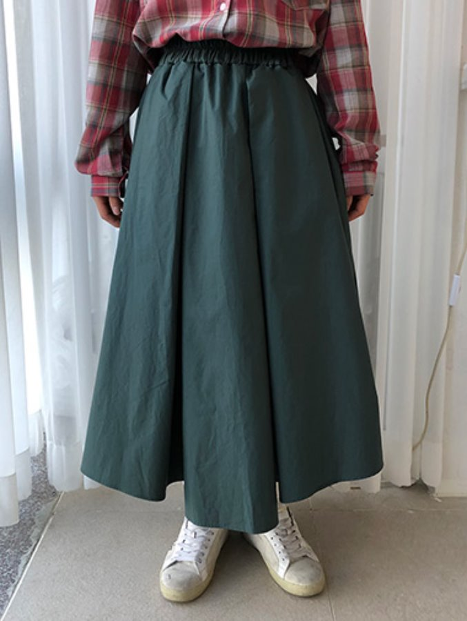 NI banding skirt / 3color