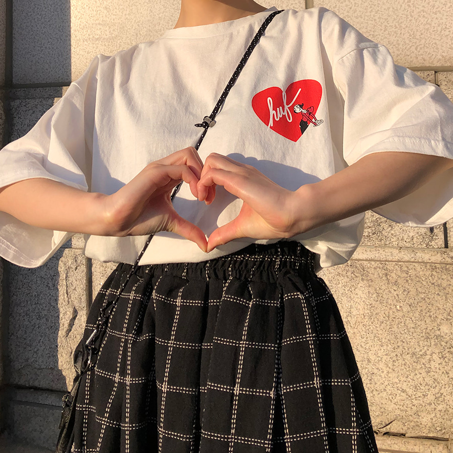 heart T shirts / 2color