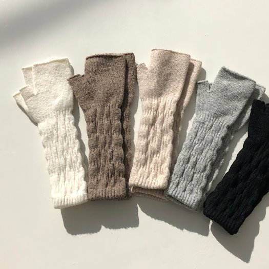 Twist arm warmer / 5color