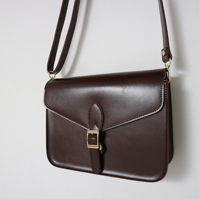 belted cross bag - 3color