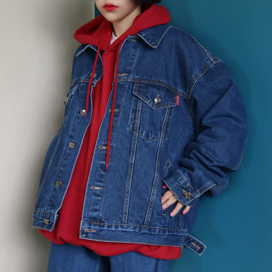 (unisex) 80's denim jacket