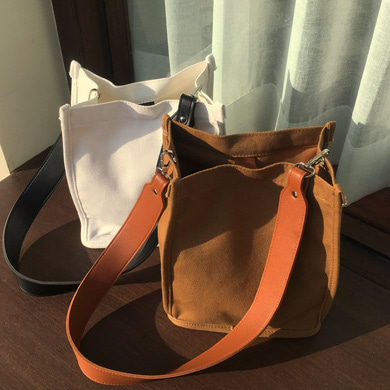 twoway canvas bag - 3color