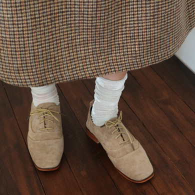 strap swade loafer - 8color