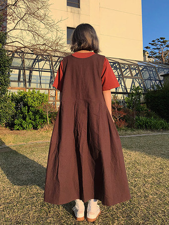 reversible linen long ops - 2color