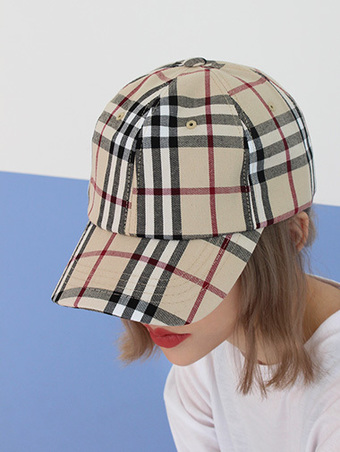 berry check cap - 2color