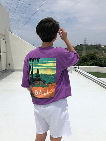 [unisex] BALI boxy T-shirts / 3color