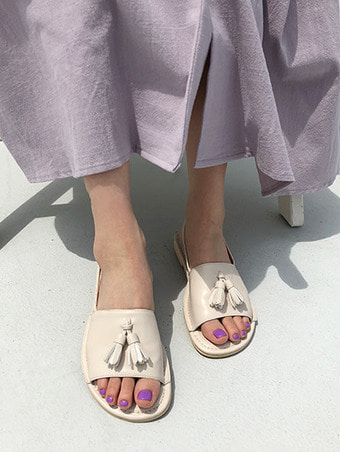 tessle sling-back sandal / 3color