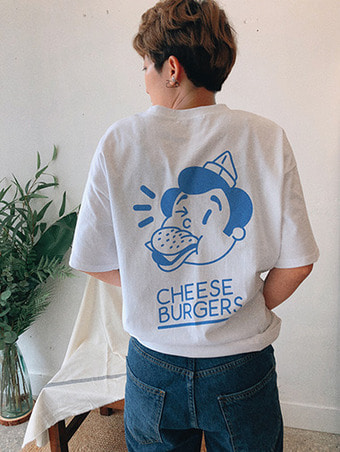 burgers T-shirts / 3color