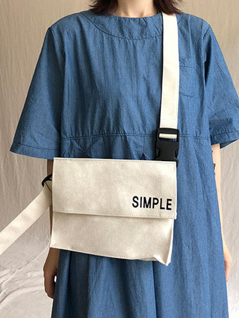 simple bag / 2color