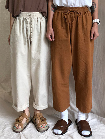 ma wide bading pants / 3color