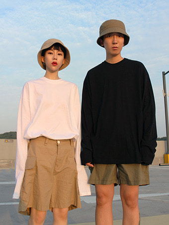 [unisex] basic loose fit T / 5color