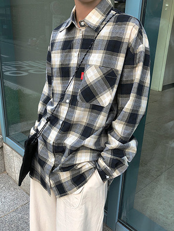 [unisex] LB check shirts / 2color