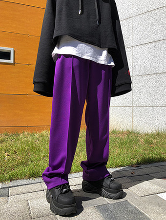 jipper jersey pants / 2color