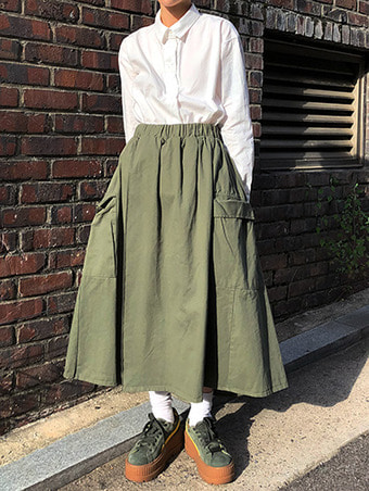 cargo wrap banding skirt /3color
