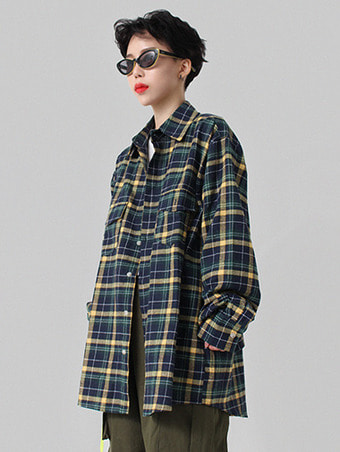 [unisex] FW check shirts / 4color