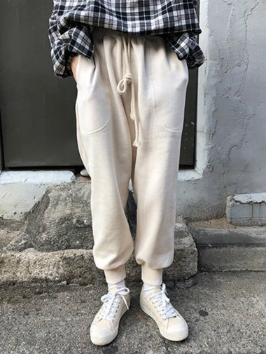 napping jogger pants / 3color