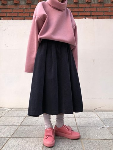 mari flare skirt / 3color