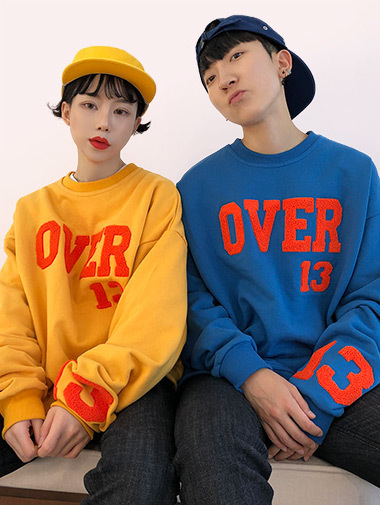[unisex] OVER mtm / 3color