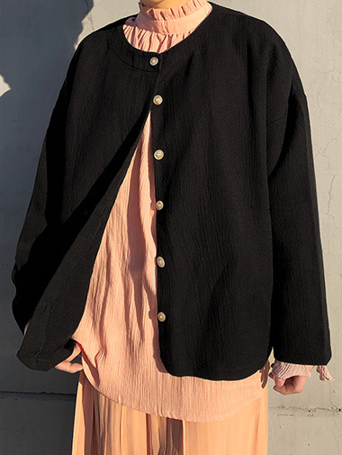 Two-way cardigan / 4color