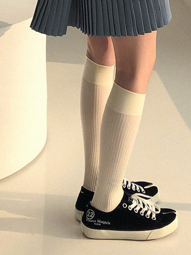 Golgi stocking knee socks / 7color