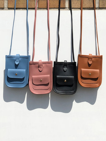mini pocket cross bag - 4color