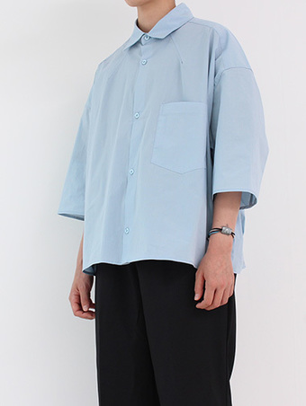 [unisex] hidden crop jacket