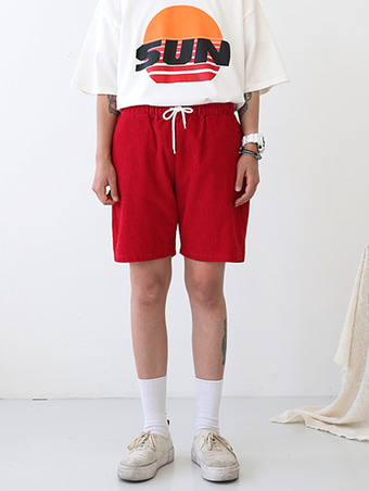 [unisex] corduroy shorts / 5color