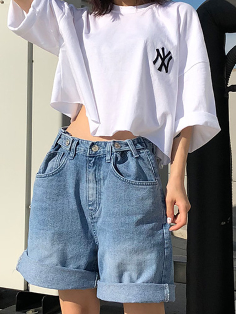 NY crop T / 3color