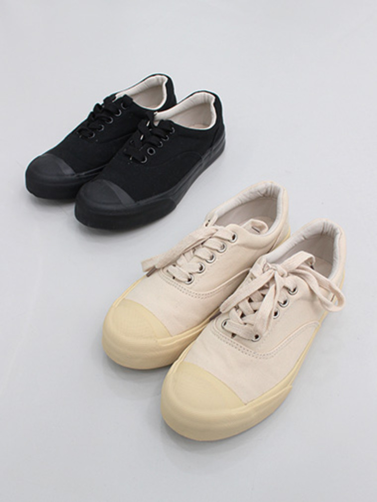 cotton sneakers / 2color