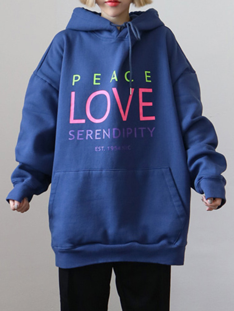 [unisex] LOVE hood - 3color