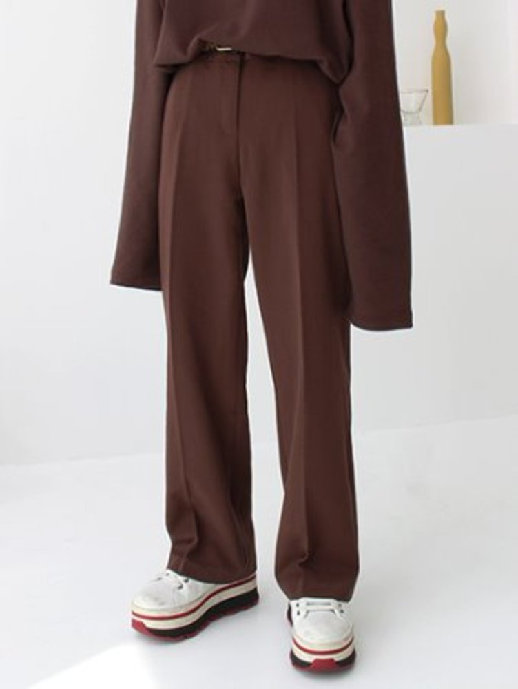 daily wide slacks / 3color