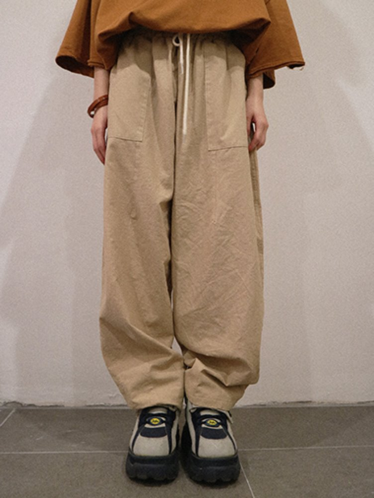 [unisex] Magbell wide pants / 4color