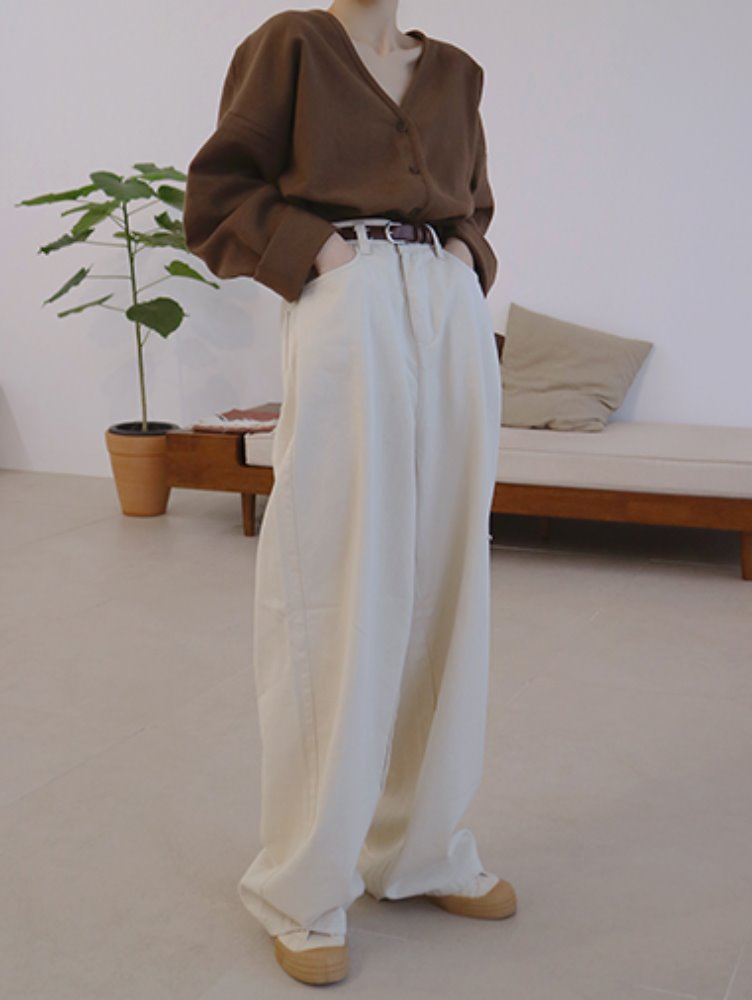 Bizo wide cotton Pants
