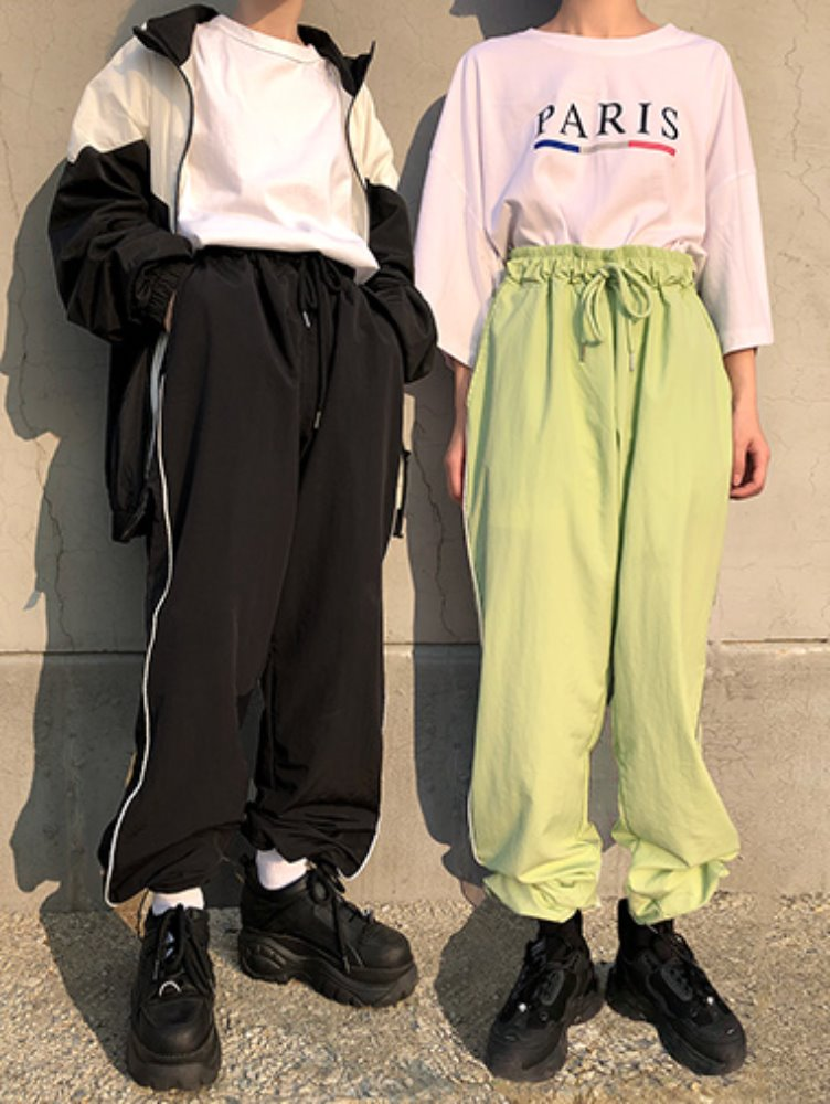 [unisex] Scotch string pants / 4color