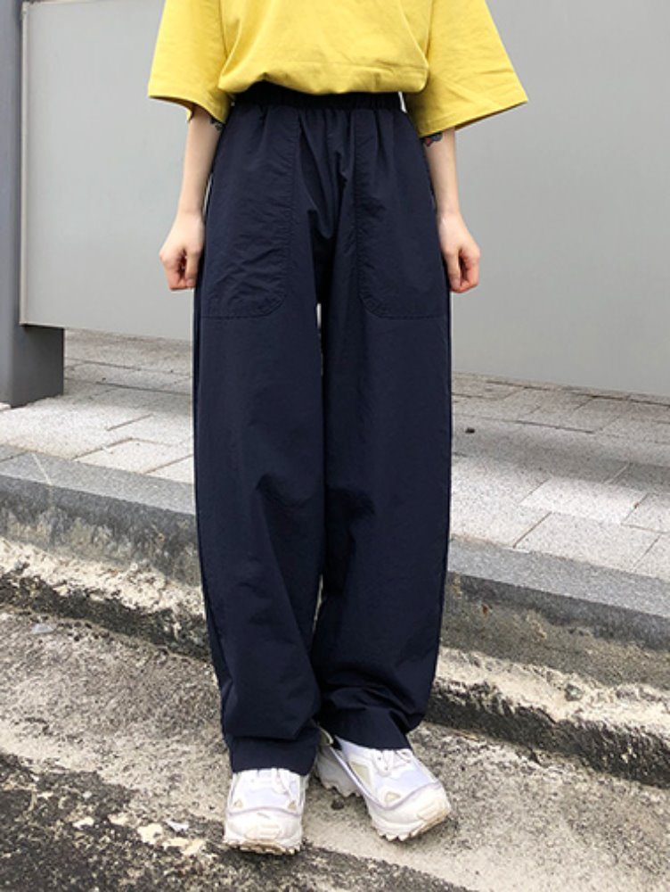 Washer wide pants / 3color