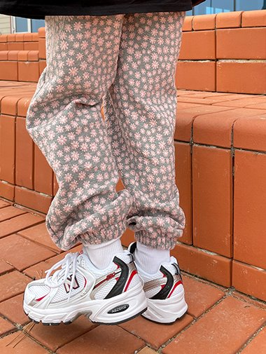 Spring Flower jogger pants / 3color