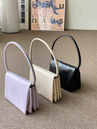 Folder shoulder bag / 3color