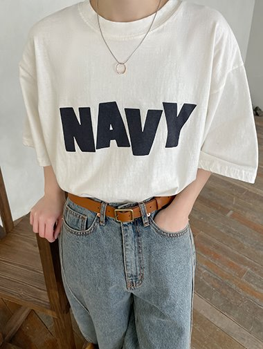 [unisex] NAVY t-shirts / 3color